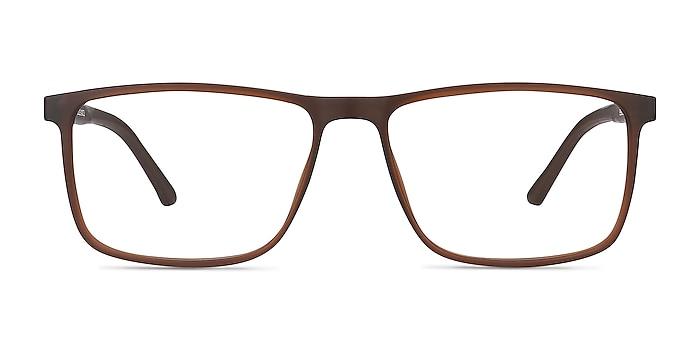 Holmes Marron Plastique Montures de lunettes de vue d'EyeBuyDirect