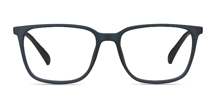 Stride Navy Plastic Eyeglass Frames from EyeBuyDirect