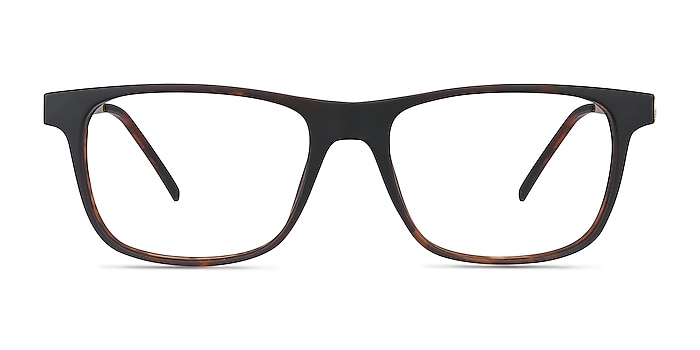 Karat Tortoise Plastic-metal Eyeglass Frames from EyeBuyDirect