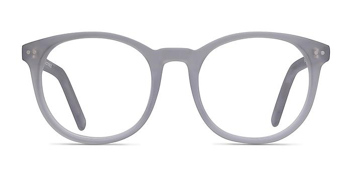 Primrose Matte Clear Acetate Eyeglass Frames from EyeBuyDirect