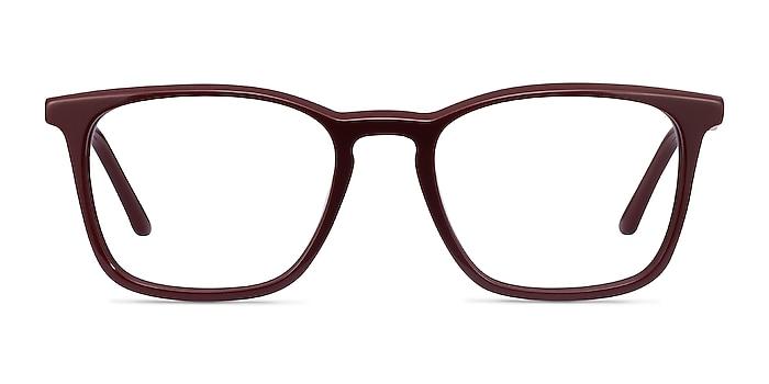 Phoenix Burgundy Acetate Eyeglass Frames from EyeBuyDirect