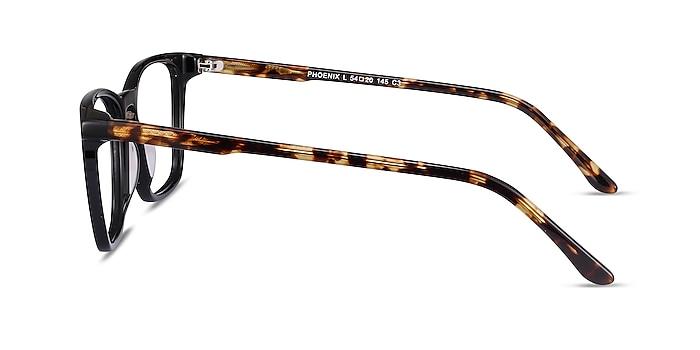 Phoenix Black Tortoise Acétate Montures de lunettes de vue d'EyeBuyDirect