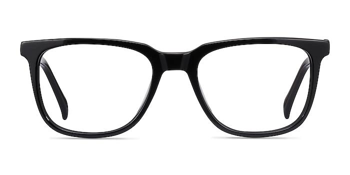 Girona Black Acetate Eyeglass Frames from EyeBuyDirect