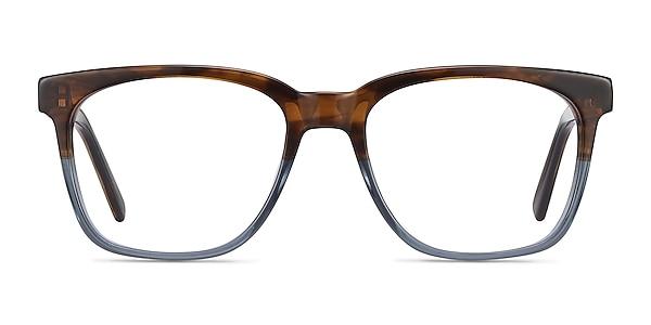 Jamie Brown Striped Acetate Eyeglass Frames