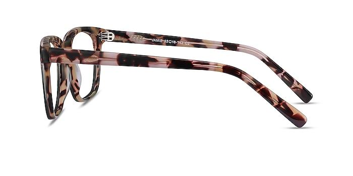 Jamie Tortoise & Green Acetate Eyeglass Frames from EyeBuyDirect