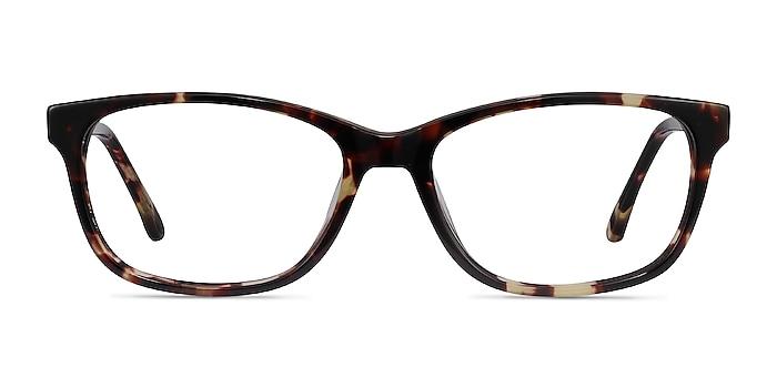 Ayla Tortoise Acetate Eyeglass Frames from EyeBuyDirect