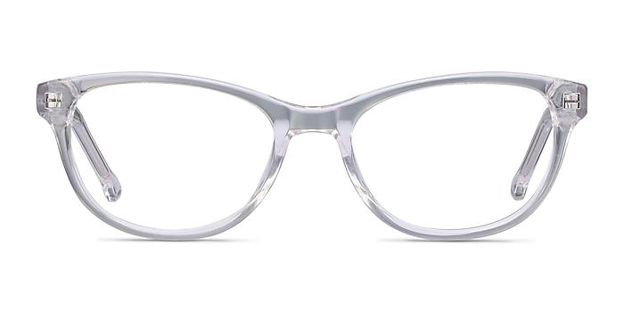 Thinker Clear Acetate Eyeglass Frames from EyeBuyDirect