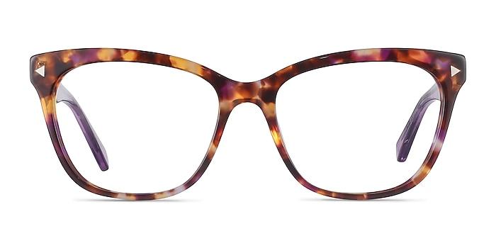 Petal Purple Tortoise Acetate Eyeglass Frames from EyeBuyDirect