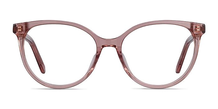 Nala Clear Purple Acetate Eyeglass Frames from EyeBuyDirect
