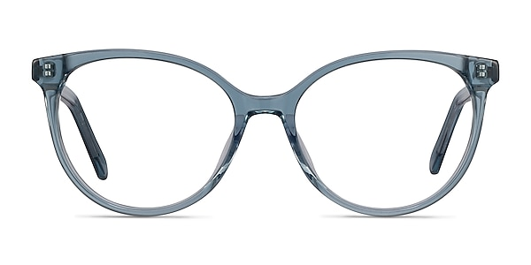 Nala Clear Blue Acetate Eyeglass Frames