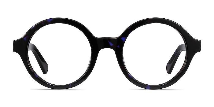 Groove Blue Tortoise Acétate Montures de lunettes de vue d'EyeBuyDirect