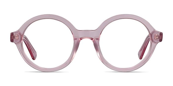 Groove Rose Acétate Montures de lunettes de vue d'EyeBuyDirect