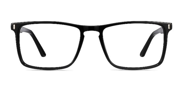 Arise Black Acetate Eyeglass Frames from EyeBuyDirect