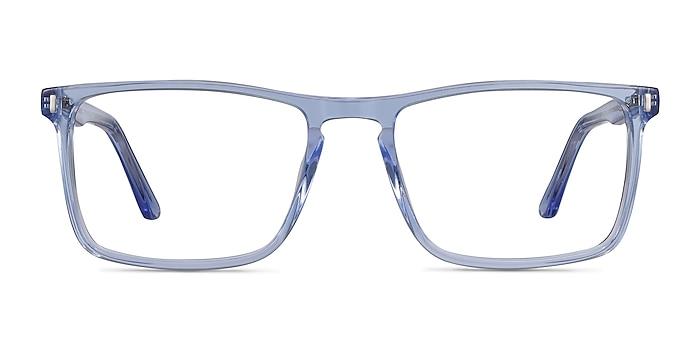Arise Blue Acetate Eyeglass Frames from EyeBuyDirect