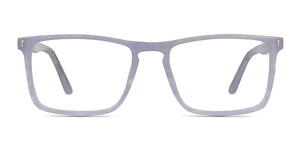 Arise Purple Striped Acetate Eyeglass Frames