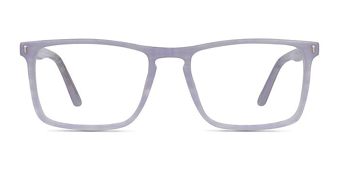 Arise Purple Striped Acetate Eyeglass Frames from EyeBuyDirect