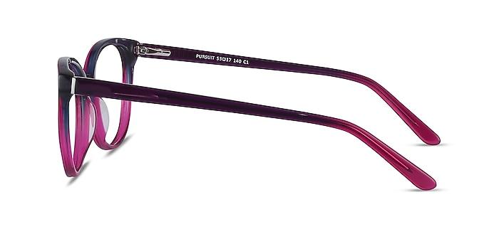 Pursuit Purple Acetate Eyeglass Frames from EyeBuyDirect