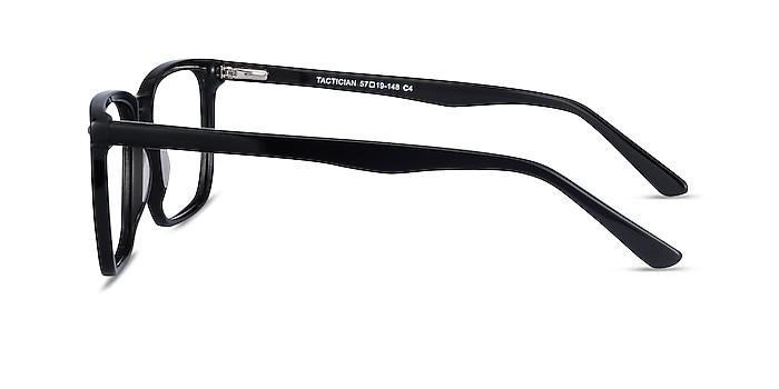Tactician Black Acetate Eyeglass Frames from EyeBuyDirect