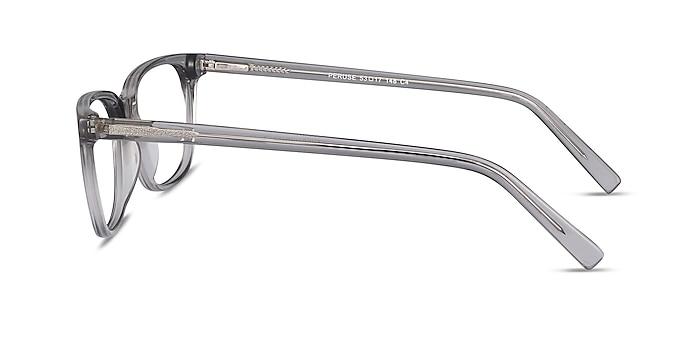 Peruse Clear Gray Acetate Eyeglass Frames from EyeBuyDirect