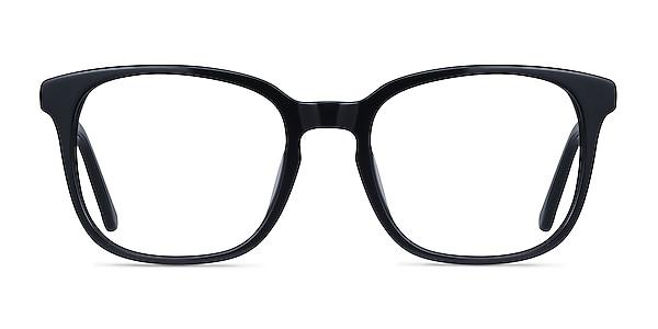 Tower Black Acetate Eyeglass Frames