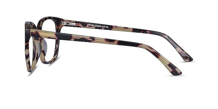 Tower Tortoise Acetate Eyeglass Frames from EyeBuyDirect