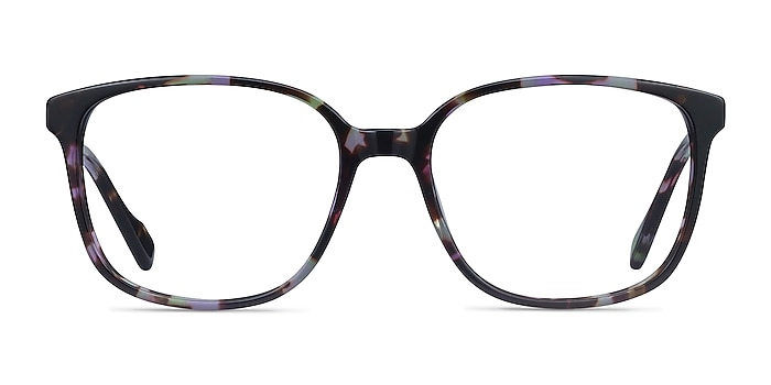 Joanne Floral Acetate Eyeglass Frames from EyeBuyDirect