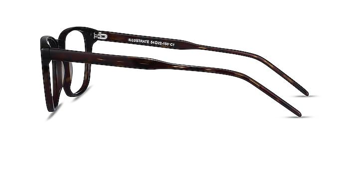 Illustrate Tortoise Acetate Eyeglass Frames from EyeBuyDirect