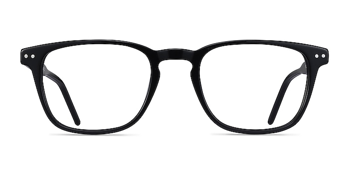 Illustrate Black Acetate Eyeglass Frames from EyeBuyDirect