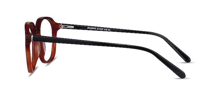 Atlantic Orange Acetate Eyeglass Frames from EyeBuyDirect