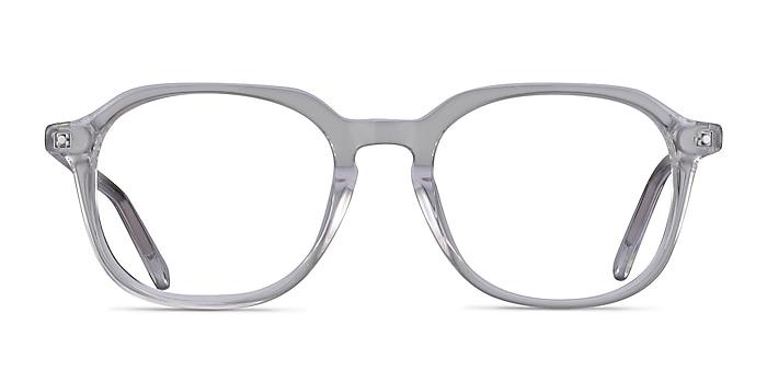 Atlantic Clear Acetate Eyeglass Frames from EyeBuyDirect