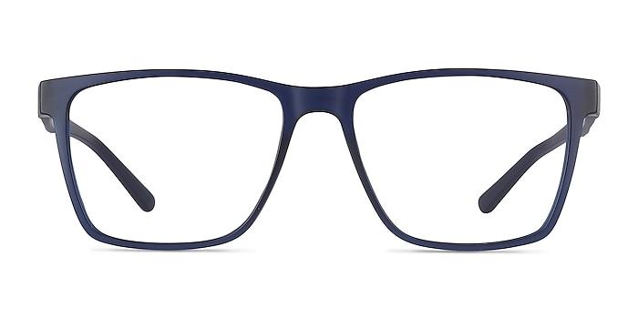 Spencer Blue Plastic Eyeglass Frames from EyeBuyDirect