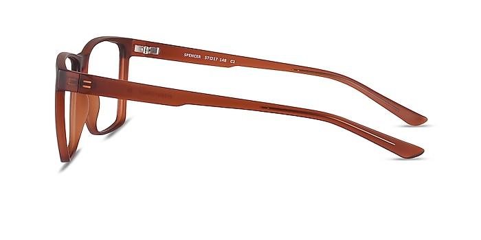 Spencer Brown Plastic Eyeglass Frames from EyeBuyDirect