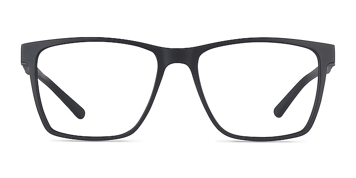 Spencer Black Plastic Eyeglass Frames from EyeBuyDirect