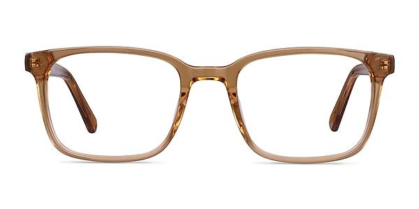 Charlie Clear Brown Acetate Eyeglass Frames