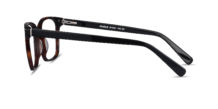 Charlie Brown Tortoise Acetate Eyeglass Frames from EyeBuyDirect
