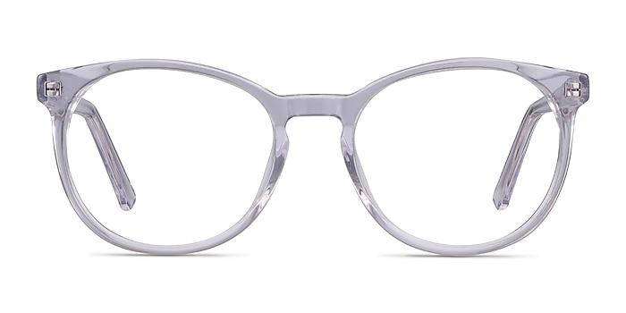 Dulce Clear Acetate Eyeglass Frames from EyeBuyDirect