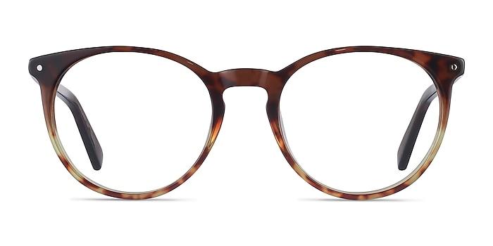 Fleury Brown Floral Acétate Montures de lunettes de vue d'EyeBuyDirect
