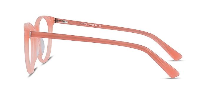 Fleury Pink Orange Acétate Montures de lunettes de vue d'EyeBuyDirect