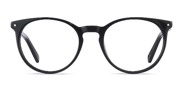 Fleury Black Acetate Eyeglass Frames
