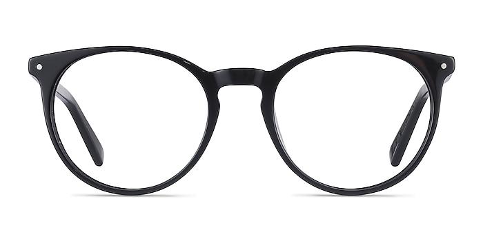 Fleury Black Acetate Eyeglass Frames from EyeBuyDirect