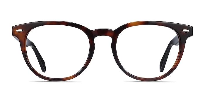 Maeby Dark Tortoise Acetate Eyeglass Frames from EyeBuyDirect