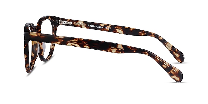 Maeby Tortoise Acetate Eyeglass Frames from EyeBuyDirect