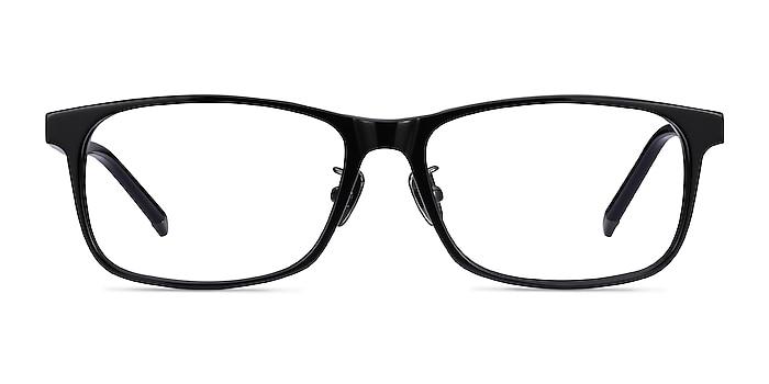 Calling Noir Acétate Montures de lunettes de vue d'EyeBuyDirect