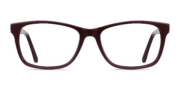 Annett Burgundy Acetate Eyeglass Frames