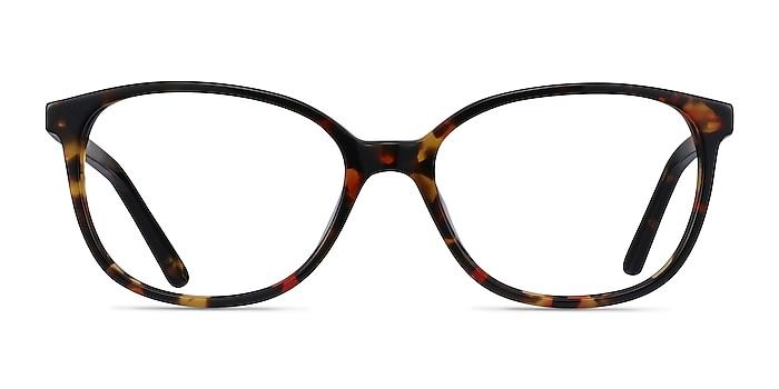 Thelma Tortoise Acetate Eyeglass Frames from EyeBuyDirect