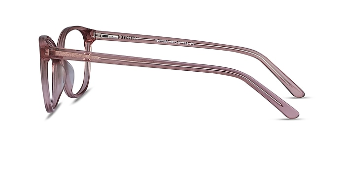 Thelma Pink Acetate Eyeglass Frames from EyeBuyDirect
