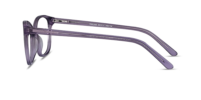 Thelma Purple Acetate Eyeglass Frames from EyeBuyDirect