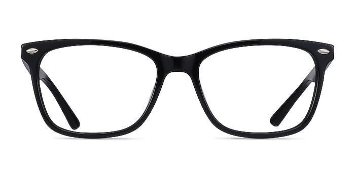 Varda Black Acetate Eyeglass Frames from EyeBuyDirect
