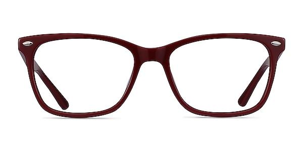 Varda Burgundy Acétate Montures de lunettes de vue