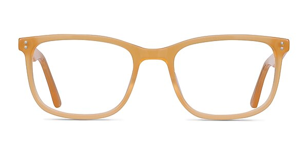 Lugano Light Orange Acetate Eyeglass Frames